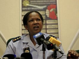 Former KwaZulu-Natal police commissioner Mmamonnye Ngobeni, along with Aswin Narainpershad, is accused of attempting to stop investigations into Panday, who reportedly paid for her husband's birthday party.