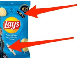 Lay's Salt and Vinegar is back – but it's only temporary
