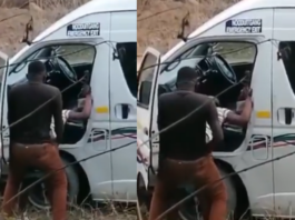 Mageza (Taxi driver) caught having s_ex by the roadside (WATCH VIDEO)